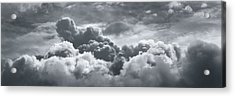 Storm Clouds Over Sheboygan Acrylic Print by Scott Norris