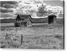 Storm Over Big Sky Montana Acrylic Print by Sandra Bronstein
