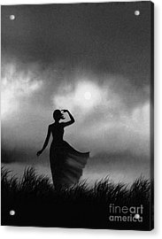 Storm Watcher Acrylic Print by Robert Foster