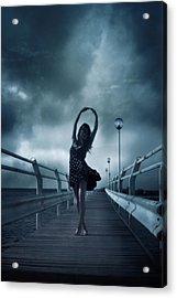 Stormdance Acrylic Print by Cambion Art