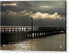 Storms Brewin' Acrylic Print by Clayton Bruster