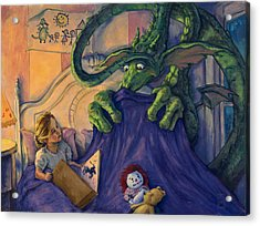 Story Time Acrylic Print by Michael Orwick