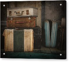 Stranded Acrylic Print by Amy Weiss