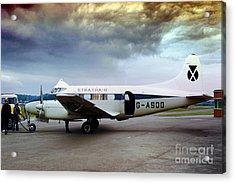 Strathair De Havilland Dh.104 Dove G-asdd Acrylic Print by Wernher Krutein