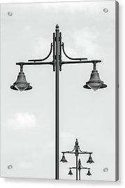 Street Lights Acrylic Print by Wim Lanclus