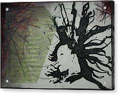Strike Point Acrylic Print by Erik Paul