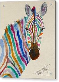 Stripes Acrylic Print by Mohamed Hirji