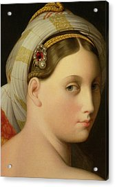 Study For An Odalisque Acrylic Print by Ingres