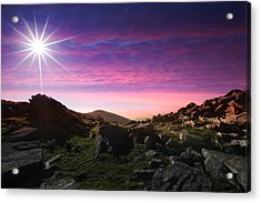 Stunning Landscape Acrylic Print by Contemporary Art