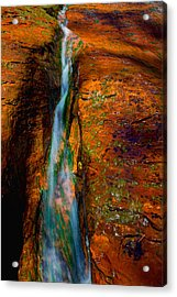 Subway's Fault Acrylic Print by Chad Dutson