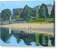 Summer At Castle Island Acrylic Print by Deb Putnam