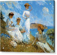 Summer Acrylic Print by Frank Weston Benson