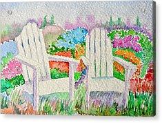 Summer In Paradise Acrylic Print by Elena Mahoney