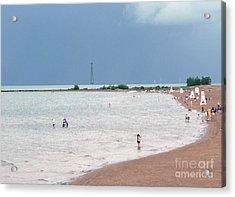 Summer Lake Acrylic Print by David Bearden