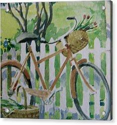 Summer Ride Acrylic Print by Florene Welebny