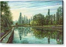 Summer Serenity Acrylic Print by Doug Kreuger