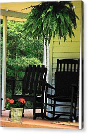 Summer Sitting Acrylic Print by Joyce Kimble Smith