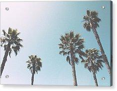 Summer Sky- By Linda Woods Acrylic Print by Linda Woods