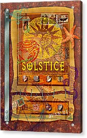 Summer Solstice Acrylic Print by Ernestine Grindal