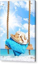 Summer Swing Acrylic Print by Amanda Elwell