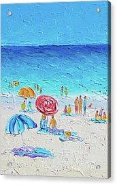 Summer Wind Acrylic Print by Jan Matson