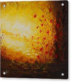 Sun Drenched Acrylic Print by Debra Houston