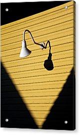 Sun Lamp Acrylic Print by Dave Bowman