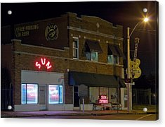Sun Records Studio The Birthplace Acrylic Print by Everett