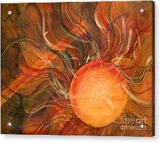 Sun Spot Acrylic Print by Dan Earle