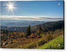 Sunburst Acrylic Print by Donnie Smith