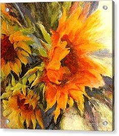 Sunburst Acrylic Print by Madeleine Holzberg
