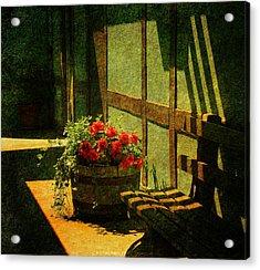 Sunny Corner Acrylic Print by Susanne Van Hulst