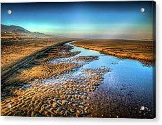 Sunrise At Rockaway Beach Oregon Acrylic Print by Spencer McDonald