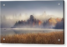 Sunrise In Lake Placid  Acrylic Print by Magda  Bognar