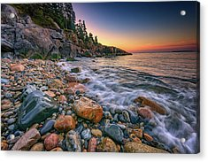 Sunrise On Little Hunters Beach Acrylic Print by Rick Berk