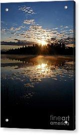 Sunrise Reflections Acrylic Print by Sandra Updyke