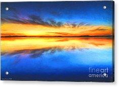 Sunrise Acrylic Print by Veikko Suikkanen