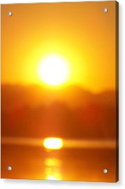 Sunset 1 Acrylic Print by Travis Wilson