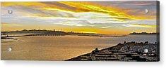 Sunset Bay Acrylic Print by Kelley King