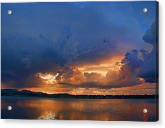 Sunset Blues Acrylic Print by James BO  Insogna
