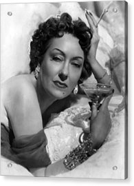 Sunset Boulevard, Gloria Swanson, 1950 Acrylic Print by Everett