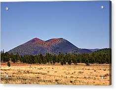 Sunset Crater Volcano National Monument Acrylic Print by Christine Till