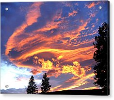 Sunset Extravaganza Acrylic Print by Will Borden