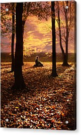 Sunset II Acrylic Print by Cambion Art