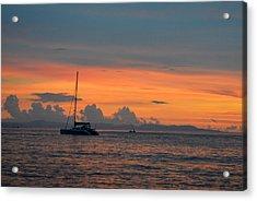 Sunset Acrylic Print by Shawna Gibson