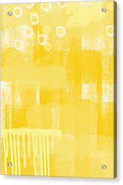 Sunshine- Abstract Art Acrylic Print by Linda Woods