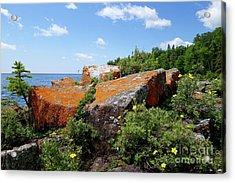 Superior Summer Shores Acrylic Print by Sandra Updyke
