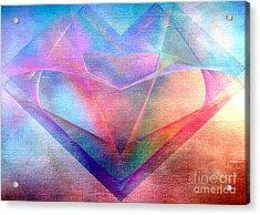 Supreme Acrylic Print by Karo Evans