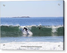Surfs Up Acrylic Print by Becca Brann