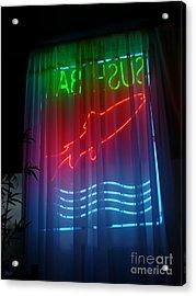 Sushi Bar Acrylic Print by Jeff Breiman